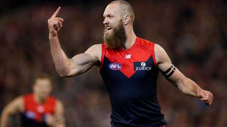 Max Gawn was unstoppable at times in 2018.