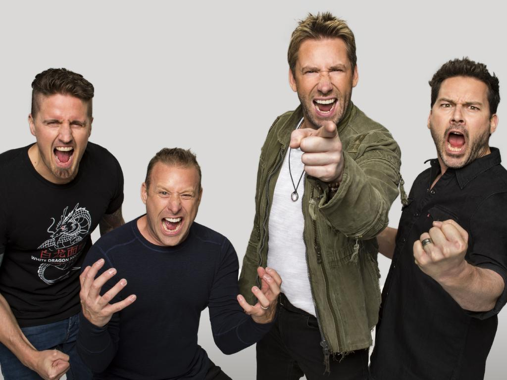 Canadian rock band Nickelback will tour Australia in 2019. Picture: Supplied/Richard Beland