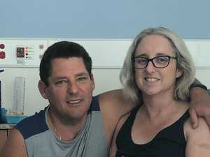 Shark attack victim going home