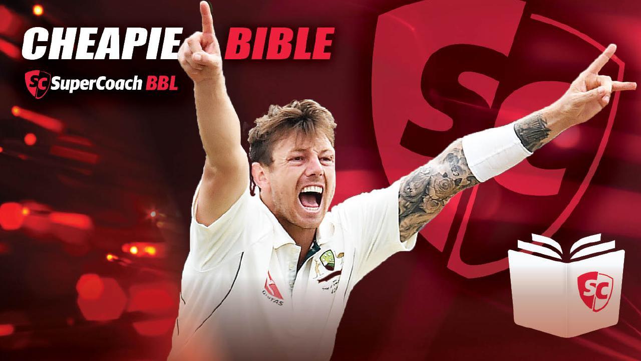 SuperCoach BBL Cheapie Bible for 2018/19 season.