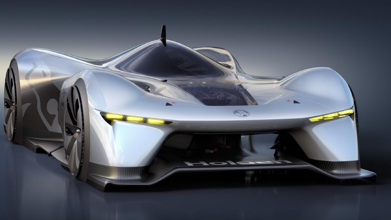 Holden Time Attack virtual racer concept