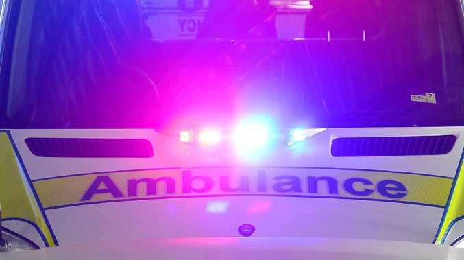 Two children were injured in the Plainland crash last night.