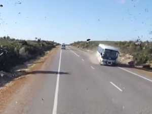 Outcry after tourist's horror crash