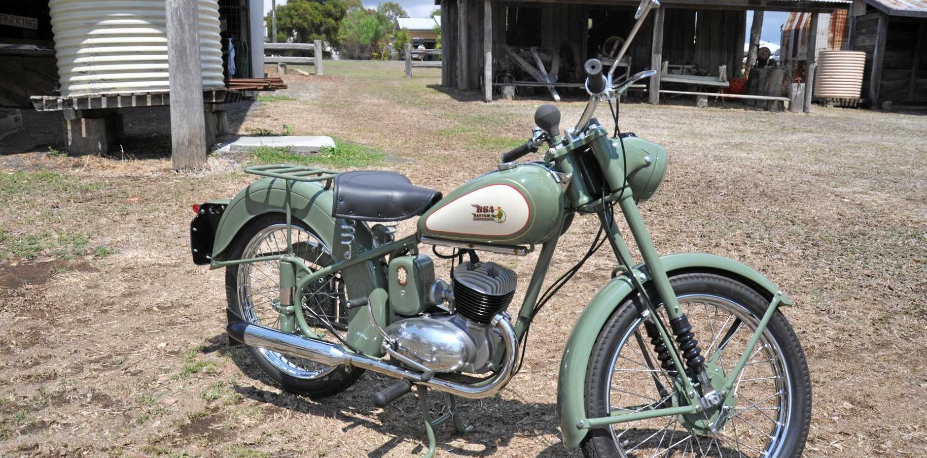 ALL CLASS: The restored 1962 BSA Bantam D1's value has appreciated significantly.