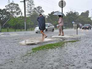 Deluge across the Coast ahead of storm threat