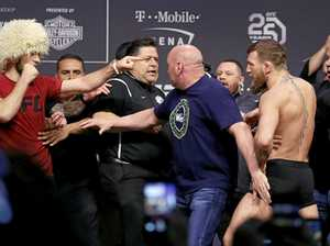 McGregor tries to attack Nurmagomedov before UFC showdown
