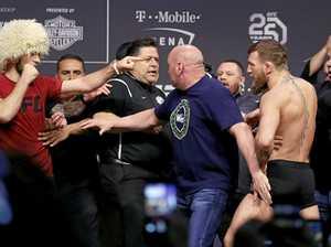 McGregor tries to attack Nurmagomedov before UFC showdown