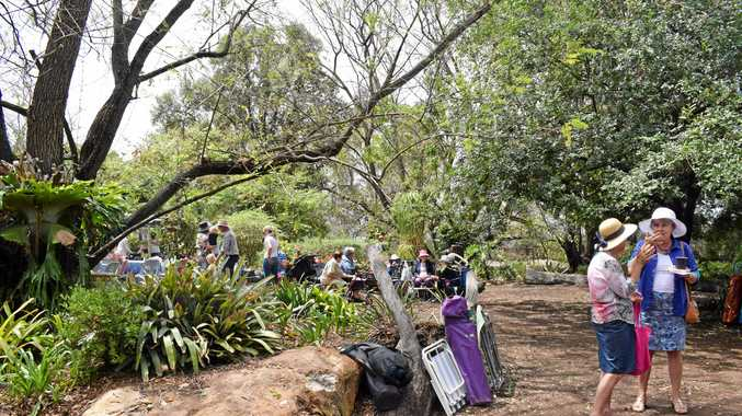 GREEN THUMBS: Visitors were treated to a stunning garden at the Warra Spring time in the Garden day on Saturday.