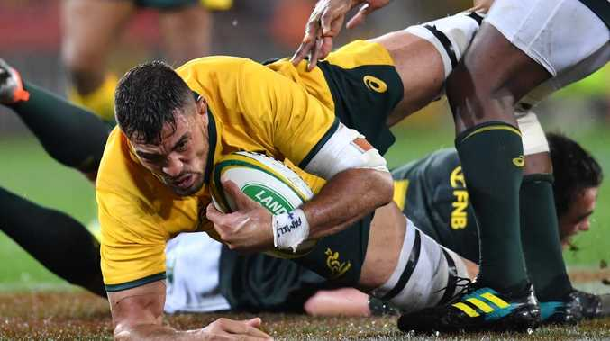 Rory Arnold won't get the chance to help the Wallabies take down Argentina. Picture: Darren England/AAP