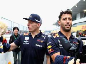 Ricciardo's painful Verstappen admission