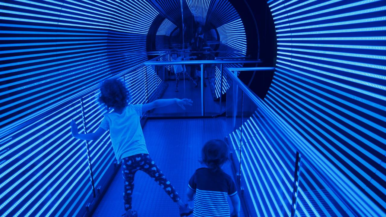 Questacon National Science and Technology Centre can tune anyone into science with its interactive displays. Picture: Esrocking the World Media