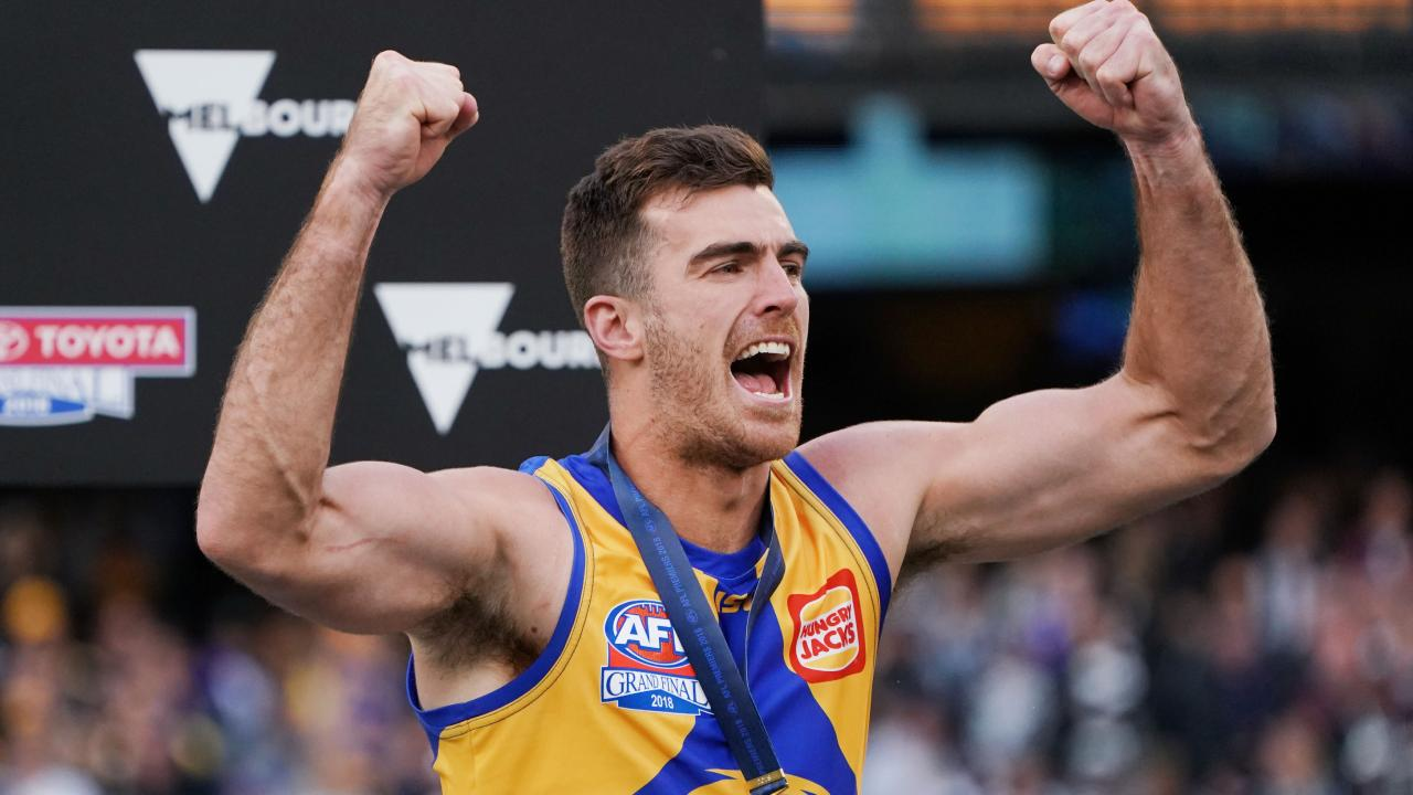 Scott Lycett looks to have played this final game for the Eagles. Picture: Getty Images