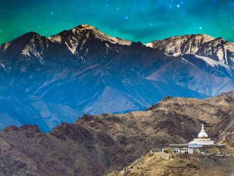 Leh in Ladakh the far north of India