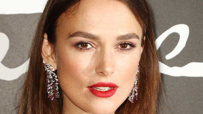 Actress Keira Knightley said being famous gave her PTSD