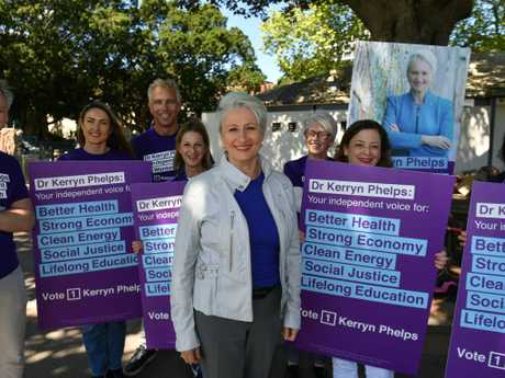 Independent candidate for Wentworth, Dr Kerryn Phelps. Picture: Mick Tsikas