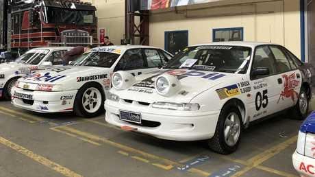 Peter Brock's around-Australia rally car. Picture: Joshua Dowling