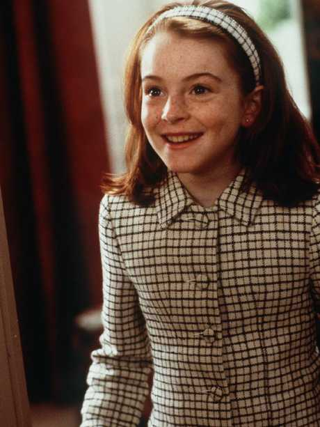 Her first film role, in The Parent Trap.