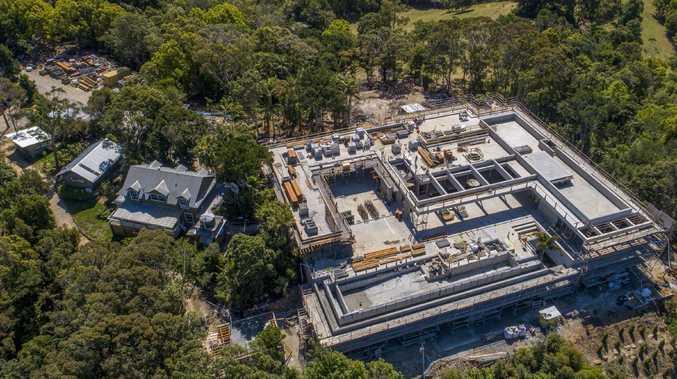 Chris Hemsworth's sprawling Byron Bay mansion. Picture: Media Mode