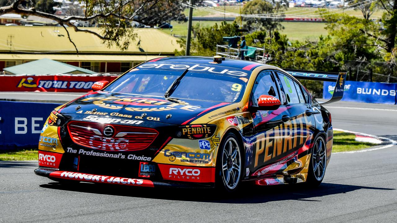 David Reynolds takes pole position for the Bathurst 1000. Picture: Brendan Esposito