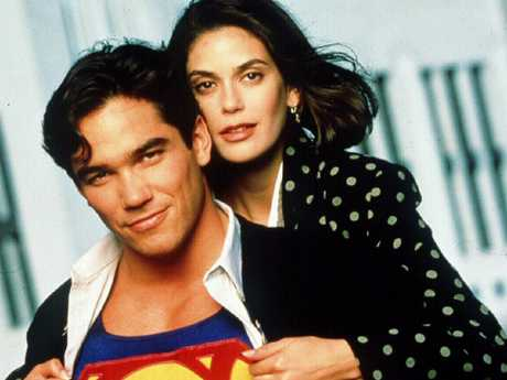 Teri Hatcher and Dean Cain.  Picture:  Supplied