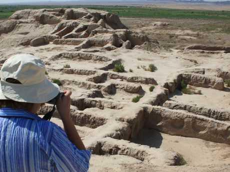 Uzbekistan adventures. Picture: Intrepid Travel