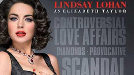 Lindsay Lohan IS Elizabeth Taylor (if you squint).