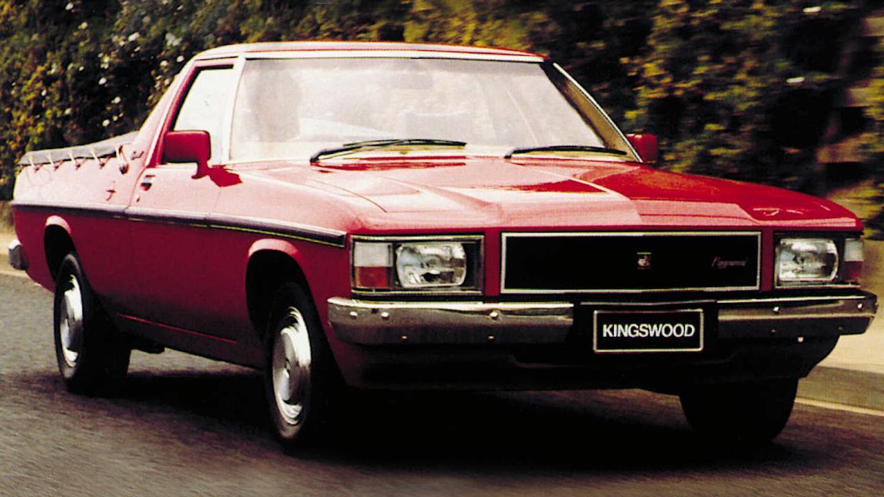 WB Holden Kingswood ute.