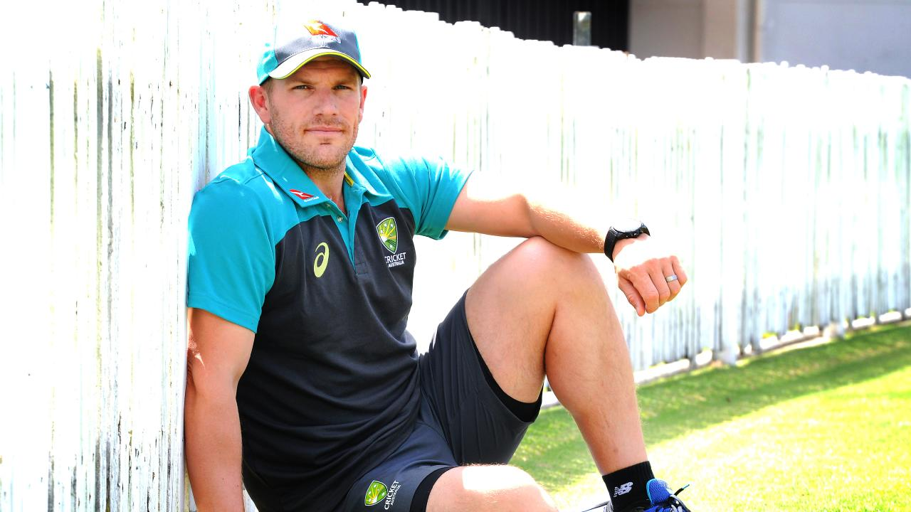 Aaron Finch will make his Test debut against Pakistan on Sunday.