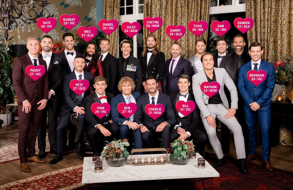 The 18 men vying for Ali Oetjen's heart on season four of The Bachelorette.