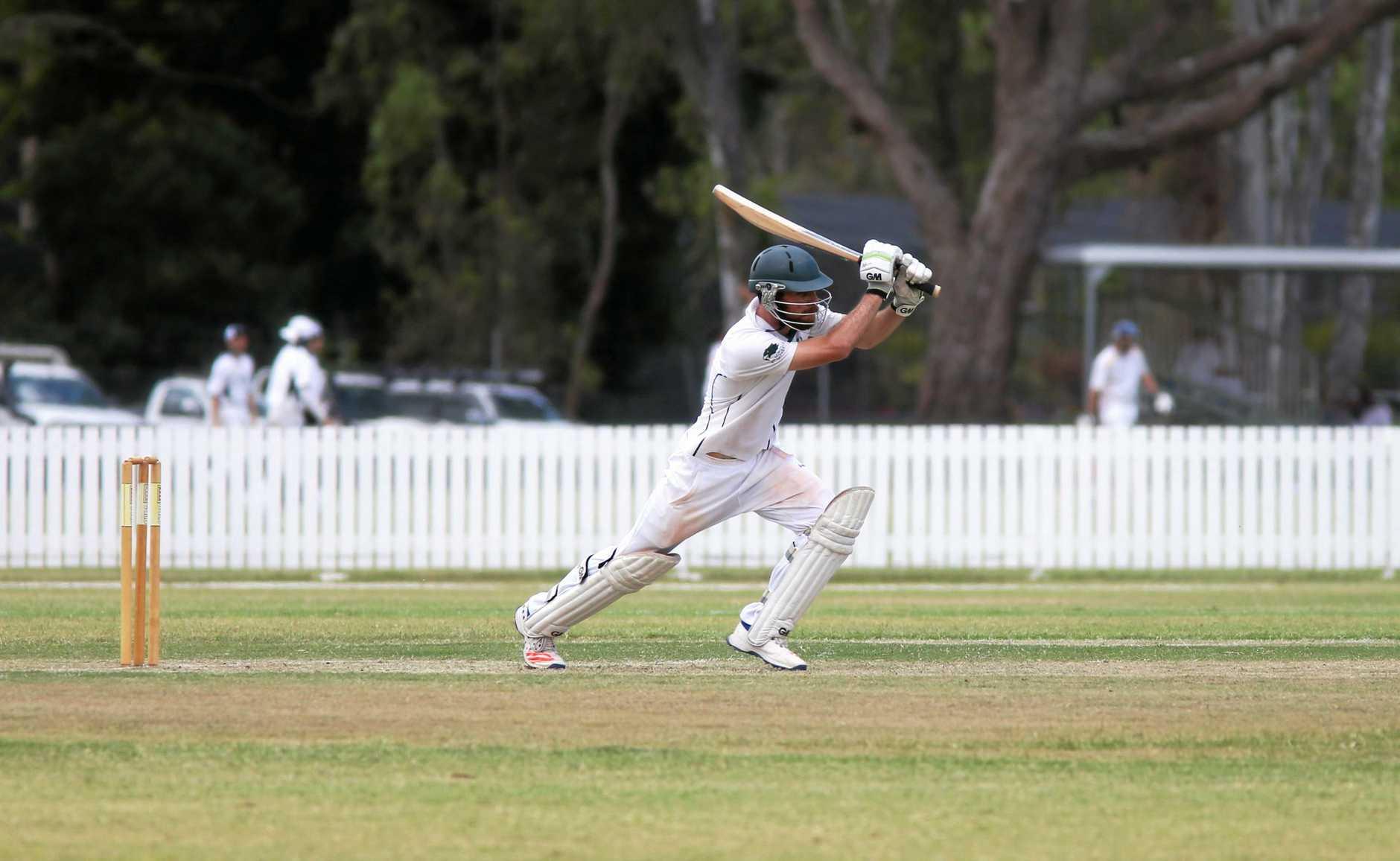Cricket: Frenchvilles Luke Taylor.