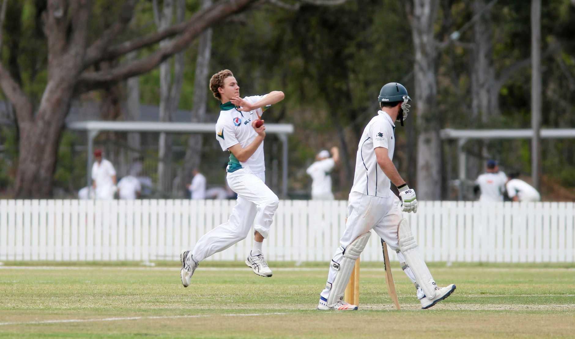 Cricket: BITS Josh Finlay.