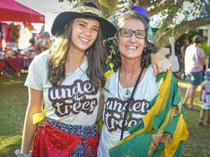 Large crowds turn out for Under the Trees festival