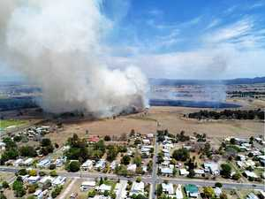 VIDEO, PHOTOS: Devastating impact of bushfire from the air