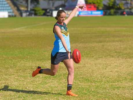 Brianna McFarlane - selected for AFLW draft combine in October.