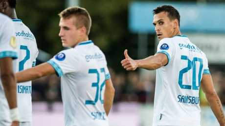 Trent Sainsbury got his first league start for PSV overnight
