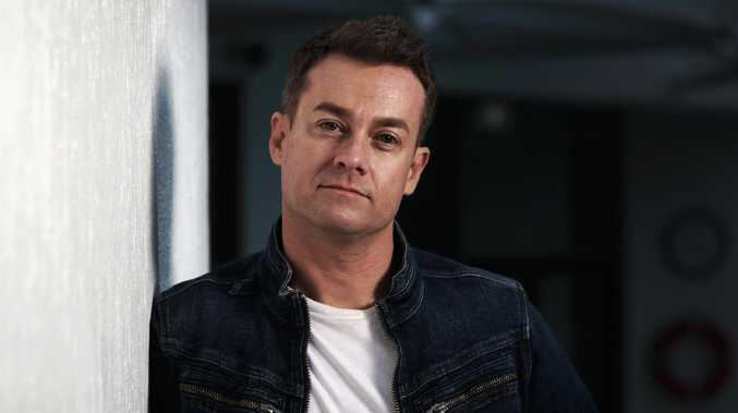 Grant Denyer opens up about his crash. Picture: Nigel Hallett