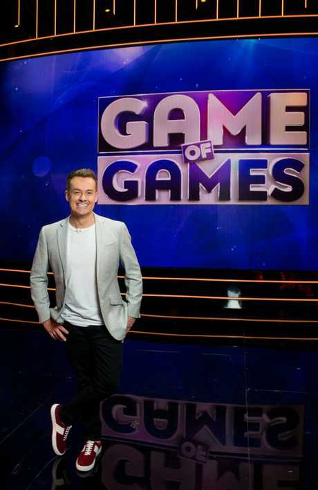Game of Games host, Grant Denyer.