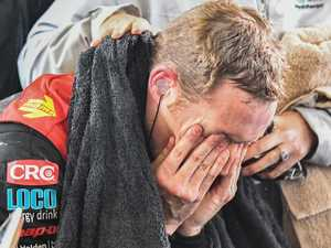 Champ to cramp: 'Saddest day of my life'
