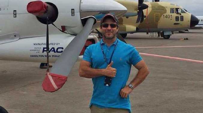 Pilot Jayson Spencer, who was killed in a plane crash.