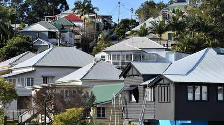 Queensland's housing market is now worth $1.004 trillion. Image: AAP/Darren England.