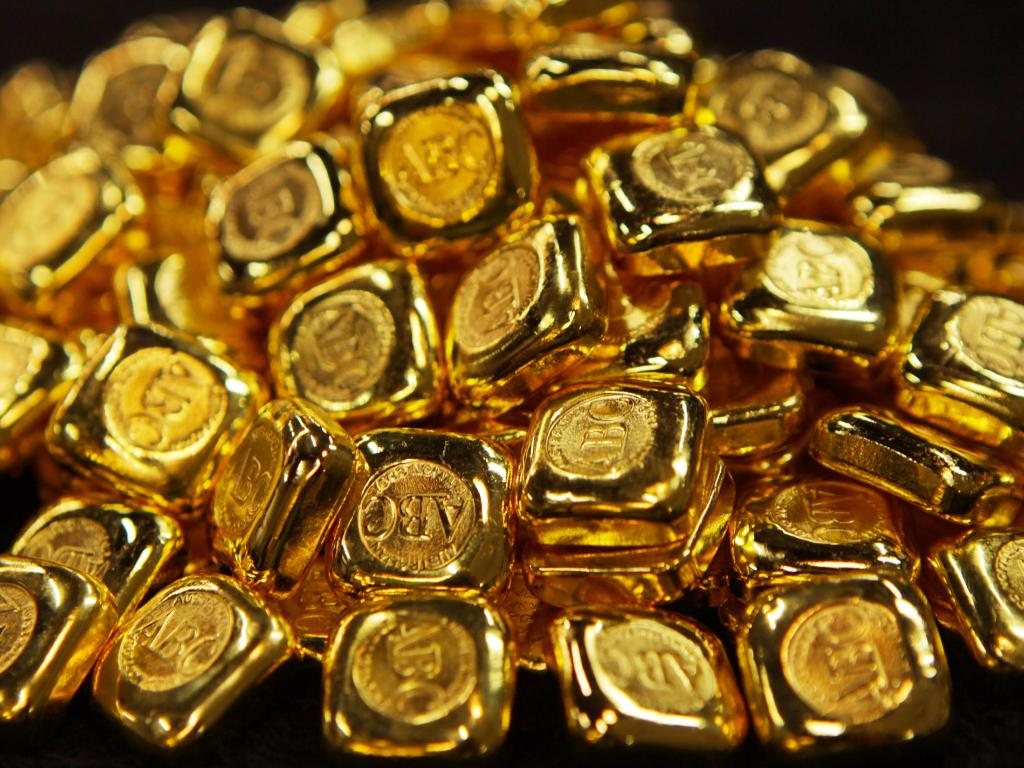 It's no longer currency, but people are holding onto physical gold. Picture: Hollie Adams/The Australian