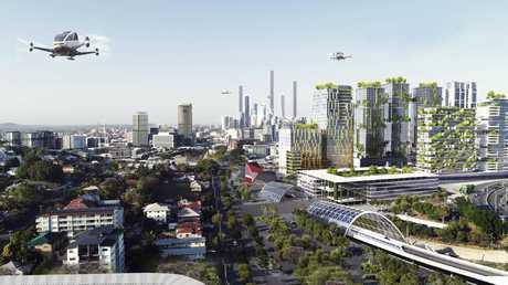 Brisbane's future skyline. Picture: Urbis