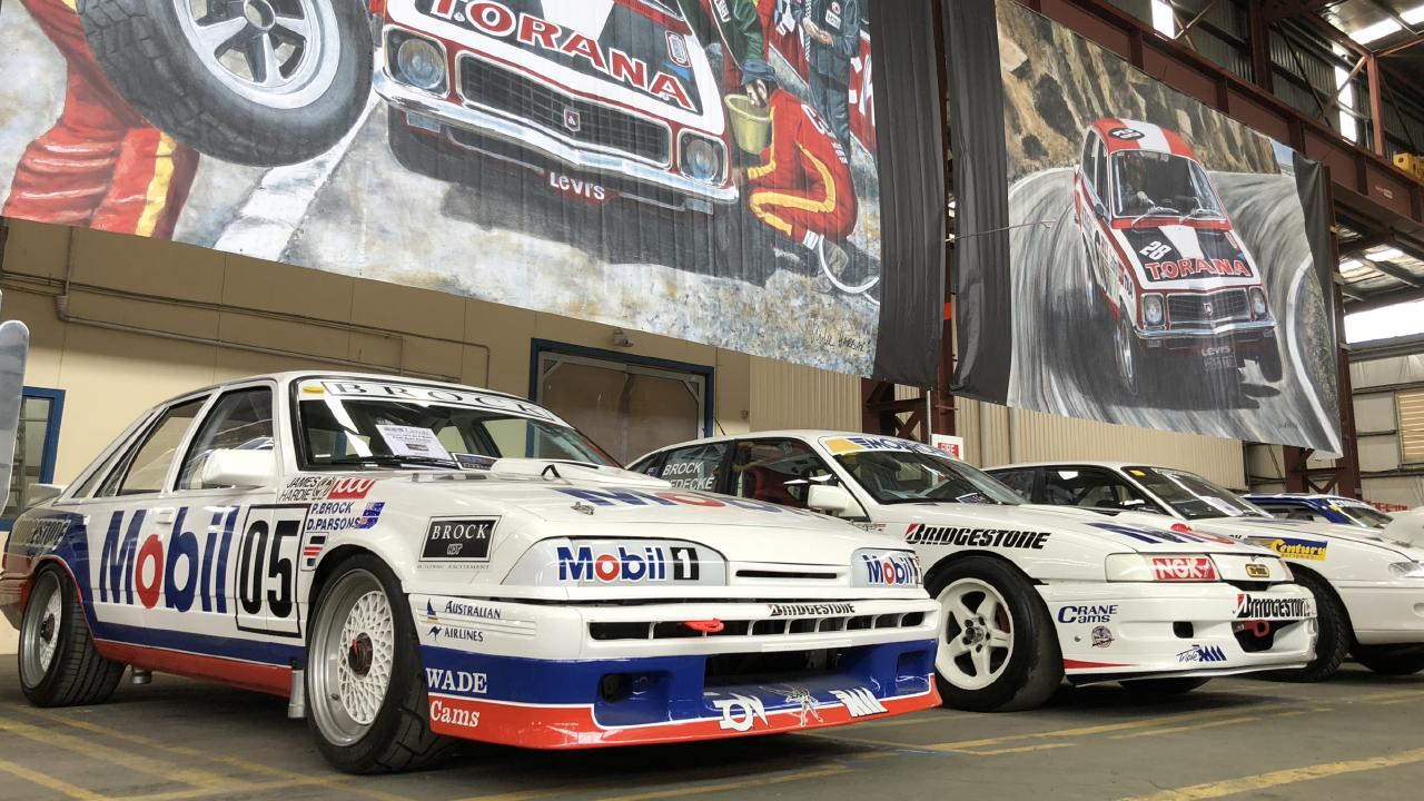 This 1987 VL Group A race car sold under the hammer for $800,000. Picture: Joshua Dowling.