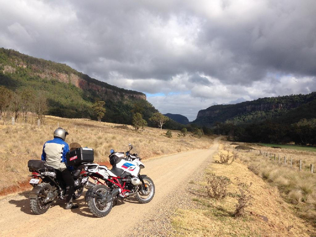 The Ride Against Drought was thwarted by rain. Picture: motorbikewriter.com