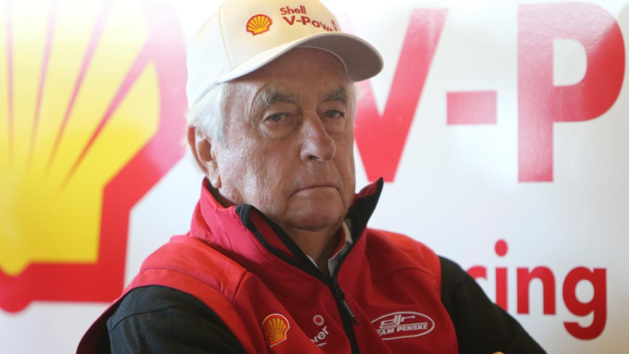 Roger Penske at Mount Panorama today for the Bathurst 1000. Picture: Tim Hunter.