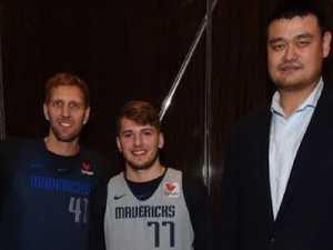 Yao Ming dwarfs NBA stars again