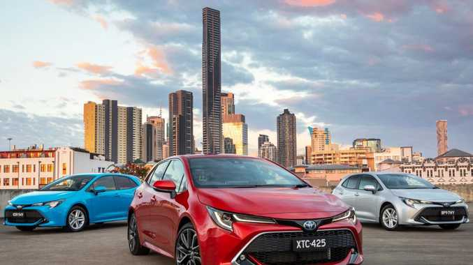 Toyota Corolla range
