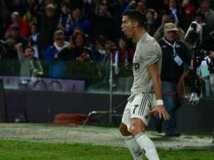 Ronaldo hits back at booing fans with 'badass' celebration