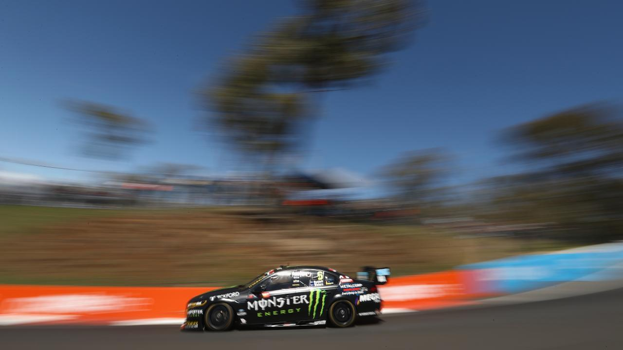 Cameron Waters drives the #6 Monster Energy Racing Ford Falcon FGX during practice for the Bathurst 1000