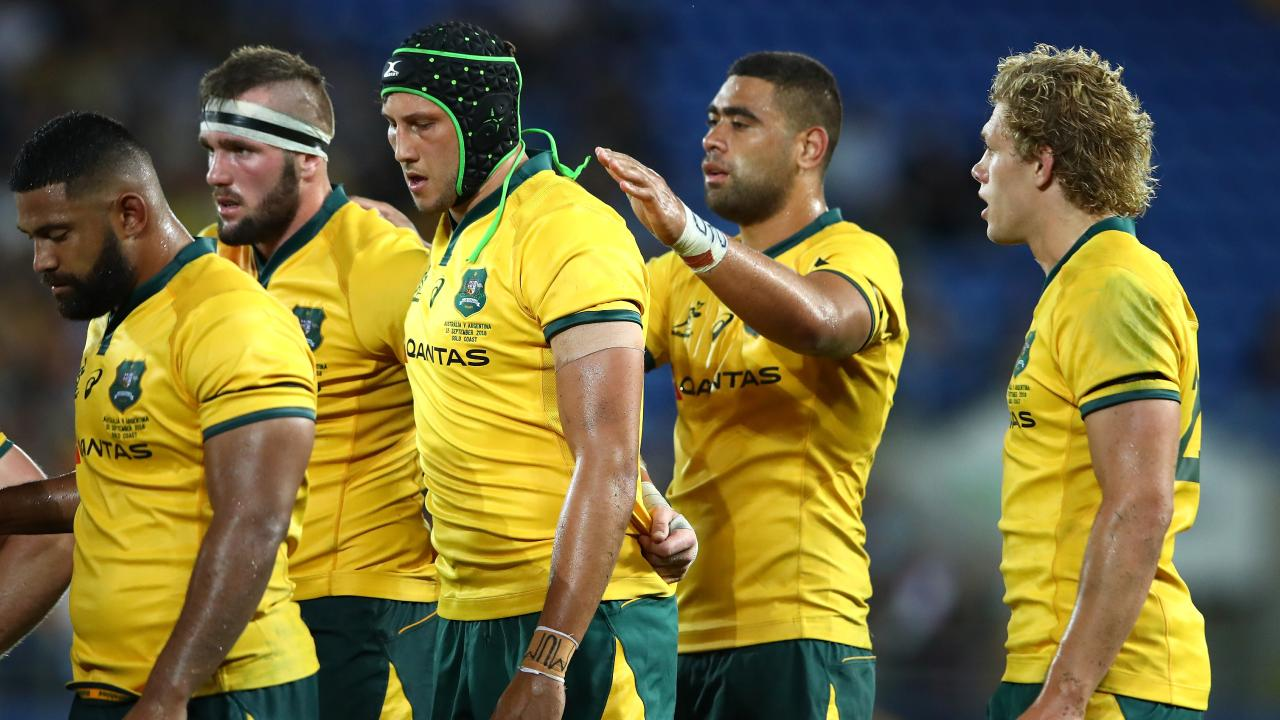 The Wallabies were disappointing in the first half.
